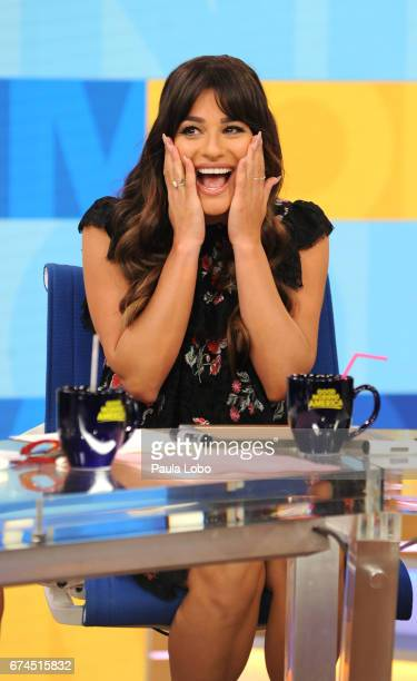 AMERICA Lea Michele performs on Good Morning America Tuesday April 28 2017 airing on the Walt Disney Television via Getty Images Television Network...