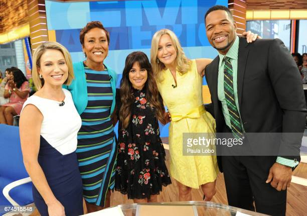AMERICA Lea Michele performs on 'Good Morning America' Tuesday April 28 2017 airing on the ABC Television Network AMY