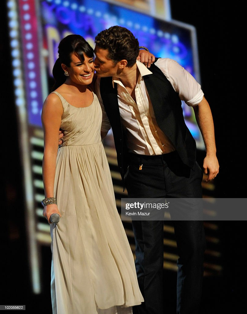 Lea Michele performs onstage during the 64th Annual Tony Awards at Radio City Music Hall on June 13, 2010 in New York City.