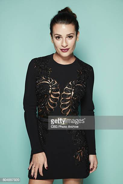 Lea Michele visits the CBS Photo Booth during the PEOPLE'S CHOICE AWARDS the only major awards show where fans determine the nominees and winners...