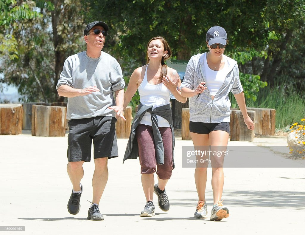Celebrity Sightings In Los Angeles - May 09, 2014 : News Photo