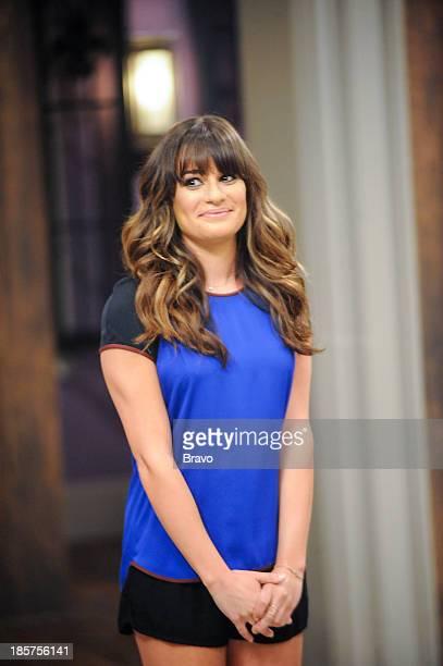 TOP CHEF 'Lea Michelle's Halloween Bash' Episode 1105 Pictured Guest judge Lea Michele