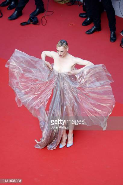 Lea Mornar attends the closing ceremony screening of The Specials during the 72nd annual Cannes Film Festival on May 25 2019 in Cannes France