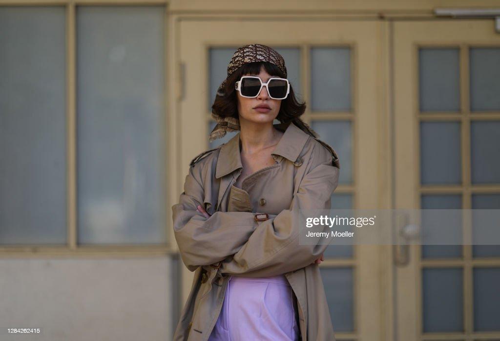 Street Style - Berlin - November 5, 2020 : Photo d'actualité