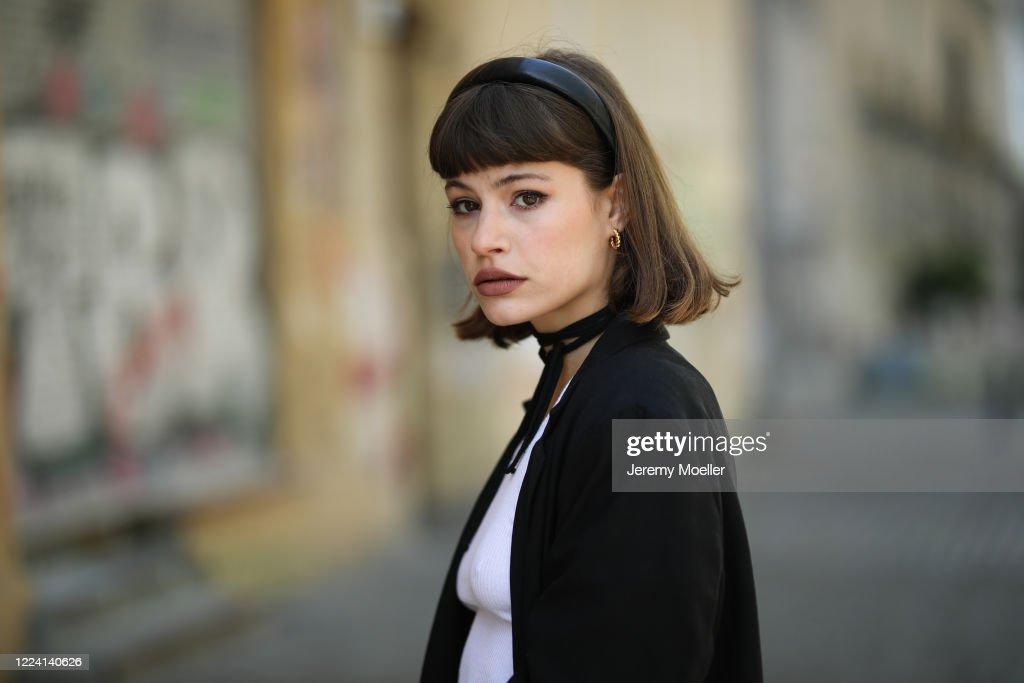 Street Style - Berlin - May 6, 2020 : News Photo