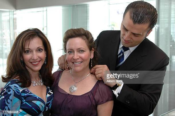 Lea Porter Debbie Webb and Wael El Saadi Director of De Beers