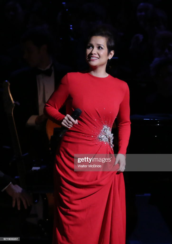 Lea Salonga during the Manhattan Concert Productions Broadway Classics in Concert at Carnegie Hall on February 20, 2018 at Carnegie Hall in New York City.