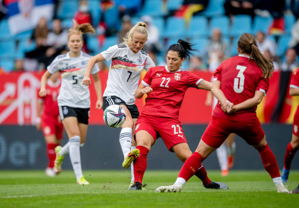 DEU: Germany v Serbia: Group H - FIFA Women's World Cup 2023 Qualifier