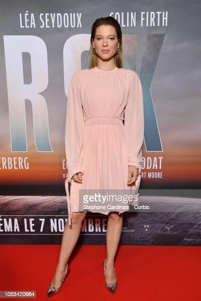 Lea Seydoux attends Kursk Paris Premiere at La Cite Du Cinema on October 25 2018 in SaintDenis France