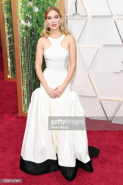 Lea Seydoux attends the 92nd Annual Academy Awards at Hollywood and Highland on February 09 2020 in Hollywood California
