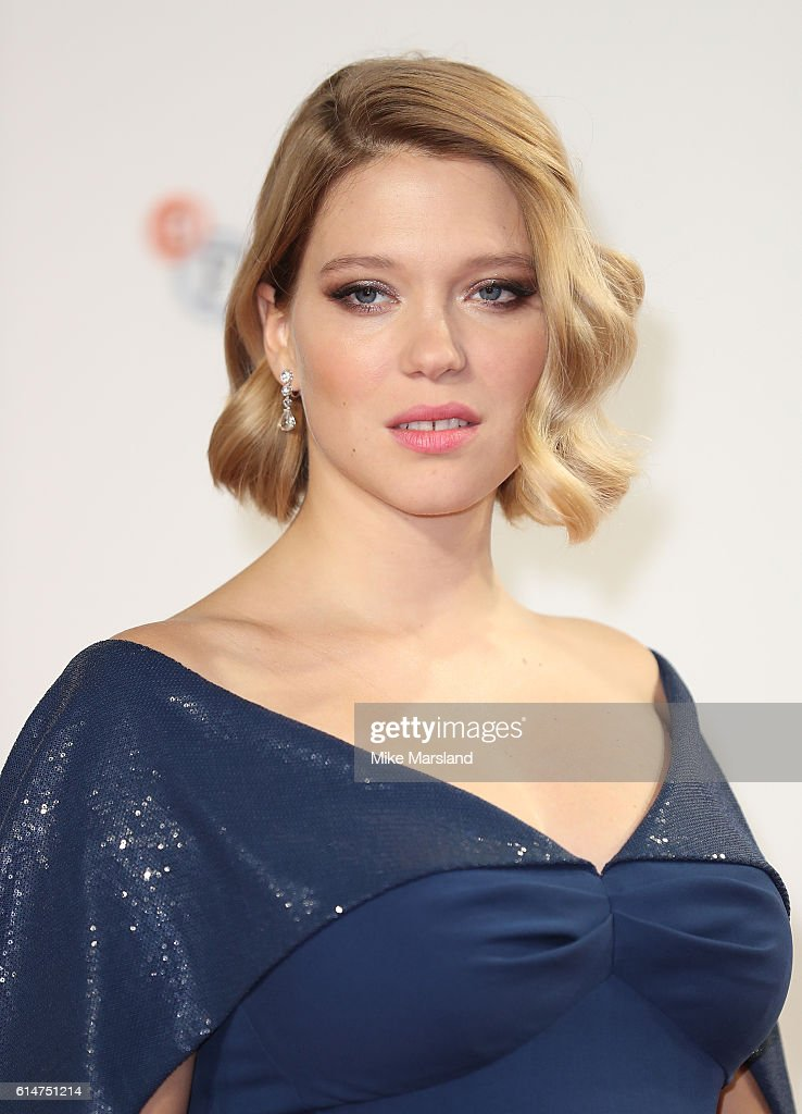 Lea Seydoux attends the 'It's Only The End Of The World' BFI Flare Special Presentation screening during the 60th BFI London Film Festival at Odeon Leicester Square on October 14, 2016 in London, England.