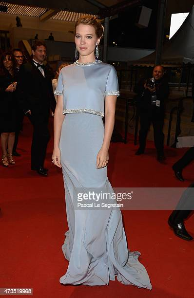 Lea Seydoux attends the Premiere of 'The Lobster' during the 68th annual Cannes Film Festival on May 15 2015 in Cannes France
