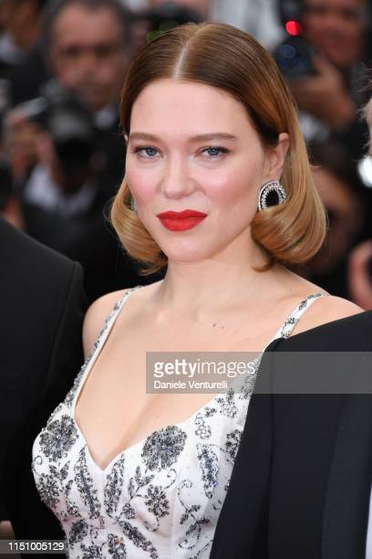 """Lea Seydoux attends the screening of """"Oh Mercy! """" during the 72nd annual Cannes Film Festival on May 22, 2019 in Cannes, France."""
