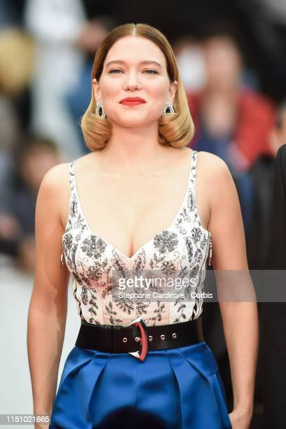 Lea Seydoux attends the screening of Oh Mercy during the 72nd annual Cannes Film Festival on May 22 2019 in Cannes France
