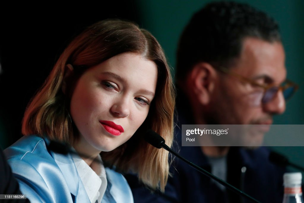 "FRA: ""Oh Mercy! (Roubaix, Une Lumiere)"" Press Conference - The 72nd Annual Cannes Film Festival"
