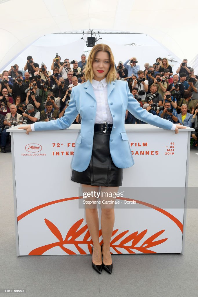 """FRA: """"Oh Mercy! (Roubaix, une Lumiere)""""Photocall - The 72nd Annual Cannes Film Festival"""
