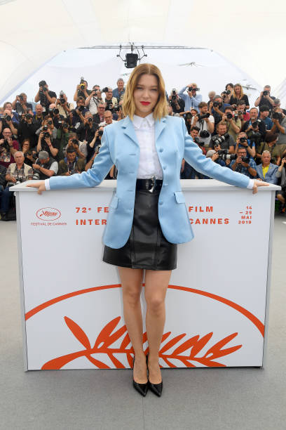 "FRA: ""Oh Mercy! (Roubaix, une Lumiere)"" Photocall - The 72nd Annual Cannes Film Festival"