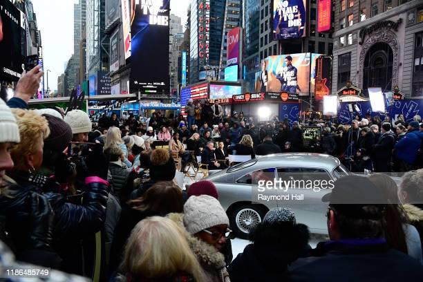 Lea Seydoux Daniel Craig Lashana LynchRami Malek and Billy Magnussen are seen outside Good Morning America on December 4 2019 in New York City