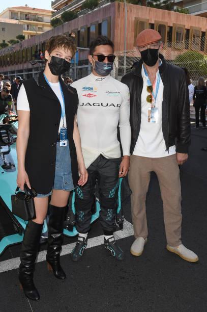 MCO: Lea Seydoux & Vincent Cassel Attend Round 7 Of The ABB FIA Formula E World Championship In Monaco