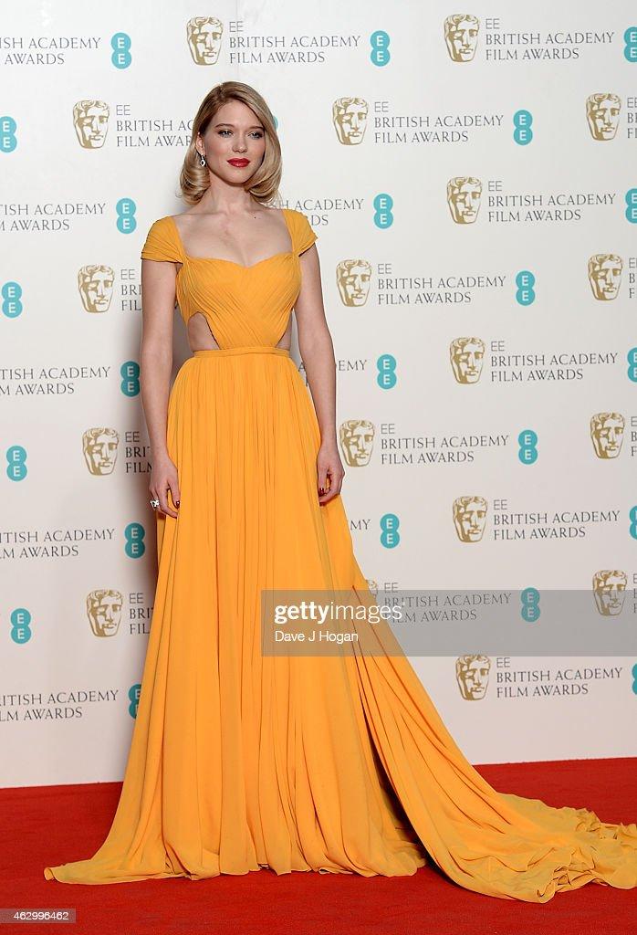 EE British Academy Film Awards 2015 - Winners Room : News Photo