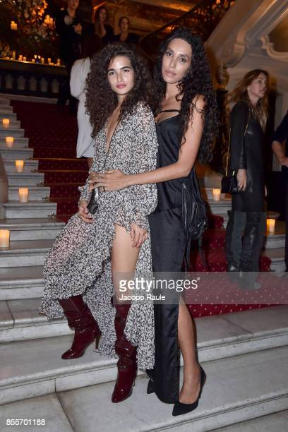Lea T attends the 20 Years Of MariaCarla Party as part of the Paris Fashion Week Womenswear Spring/Summer 2018 on September 29 2017 in Paris France