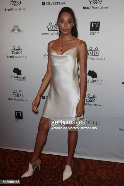 Lea T attends the 2017 Brazil Foundation Gala on September 13 2017 in New York City