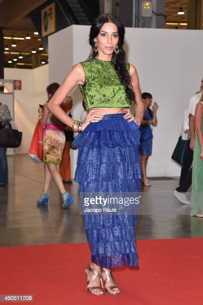 Lea T attends the Convivio 2014 on June 12 2014 in Milan Italy