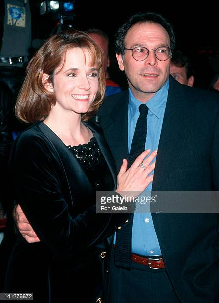 Lea Thompson and Howard Deutch at the Premiere of 'Grumpier Old Men', Mann Bruin Theater, Westwood.