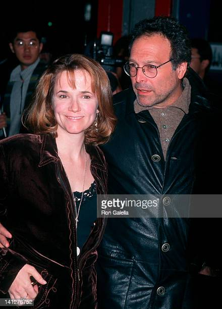Lea Thompson and Howard Deutch at the Premiere of 'Screamers', Mann Chinese Theater, Hollywood.
