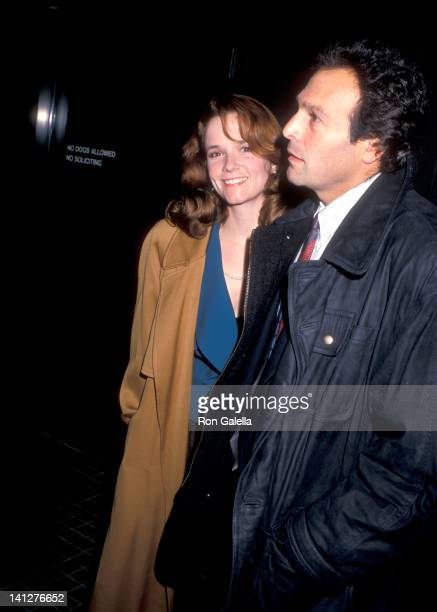 Lea Thompson and Howard Deutch at the Premiere of 'Working Girl' 20th Century Fox Studios Century City