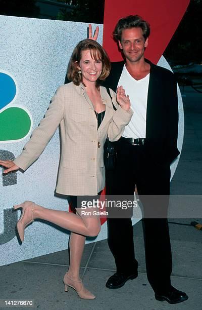 Lea Thompson and Malcolm Gets at the NBC New Star Party Ritz Carlton Huntington Hotel Pasadena
