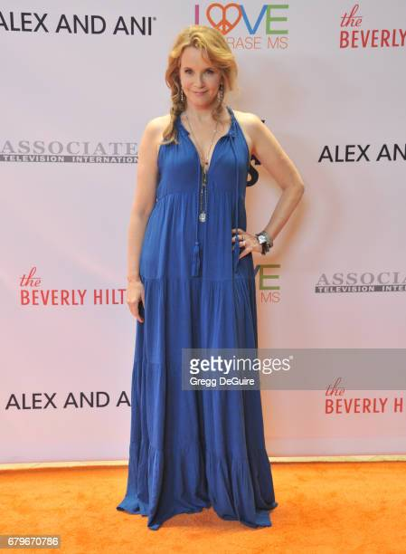 Lea Thompson arrives at the 24th Annual Race To Erase MS Gala at The Beverly Hilton Hotel on May 5 2017 in Beverly Hills California
