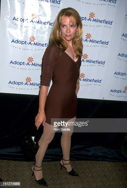 Lea Thompson at the 1st Annual AdoptaMinefield Gala Beverly Wilshire Hotel Beverly Hills