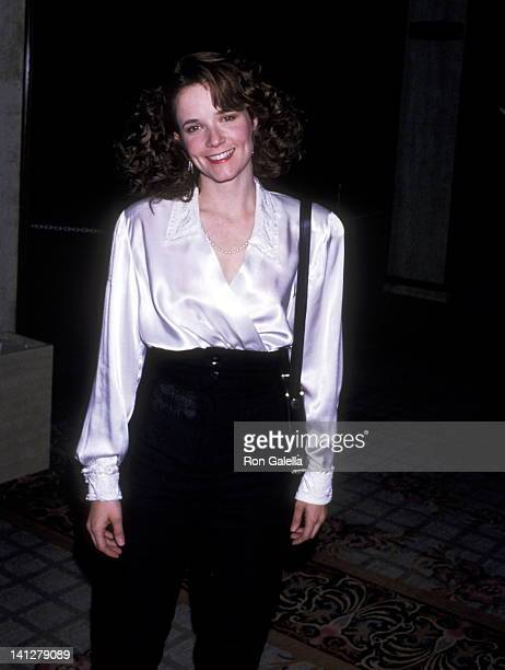 Lea Thompson at the 4th Annual American Cinematheque Award Honoring Steve Spielberg Century Plaza Hotel Los Angeles