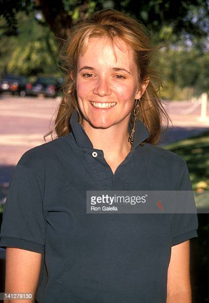 Lea Thompson at the Celebrity Golf Tournament Benefit Permanent Charitites North Ranch Country Club Westlake Village