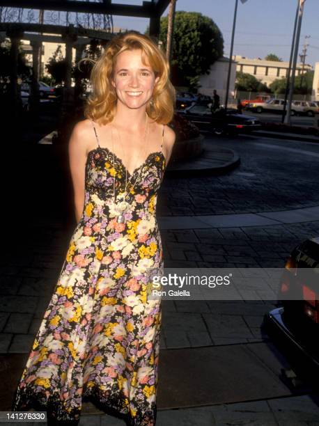 Lea Thompson at the Cool ComedyHot Cuisine Benefit Loews Santa Monica Beach Hotel Santa Monica