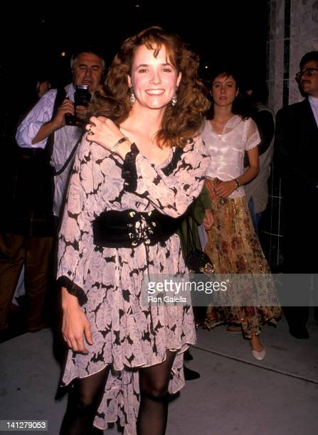 Lea Thompson at the Premiere of 'Back To The Future Part 2' Cineplex Odeon Cinemas Los Angeles