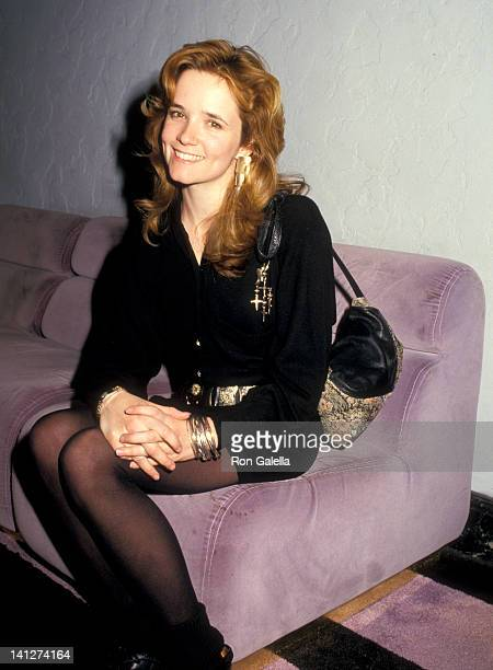 Lea Thompson at the Premiere of 'Some Kind of Wonderful' Mann's Chinese Theatre Hollywood