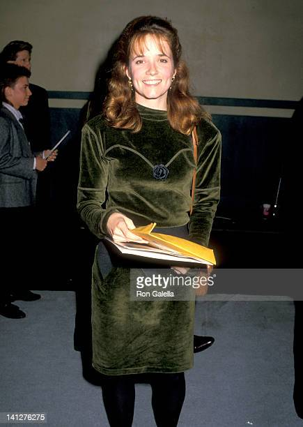 Lea Thompson at the Starlight Foundation Benefit Ed DeBevic's Restaurant Beverly Hills