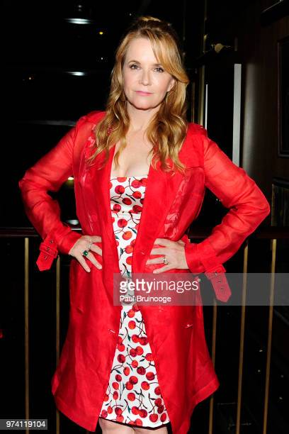 Lea Thompson attends MarVista Entertainment And Parkside Pictures With The Cinema Society Host The After Party For 'The Year Of Spectacular Men' at...