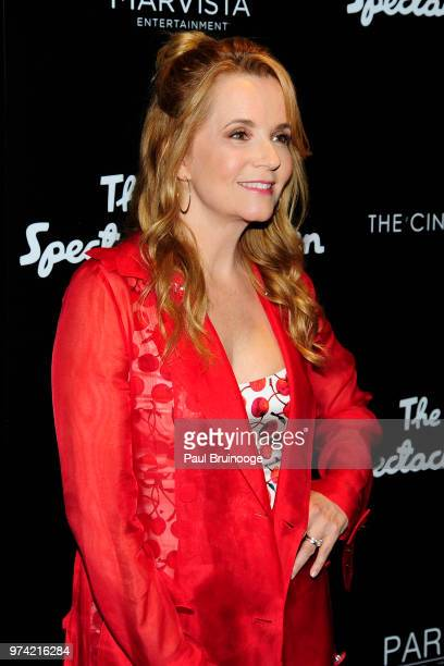 Lea Thompson attends MarVista Entertainment And Parkside Pictures With The Cinema Society Host A Special Screening Of The Year Of Spectacular Men at...