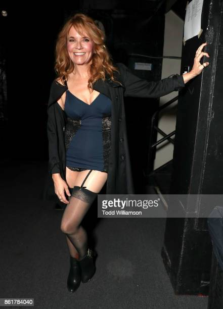 Lea Thompson attends National Breast Cancer Coalition Fund's 17th Annual Les Girls Cabaret at Avalon Hollywood on October 15 2017 in Los Angeles...