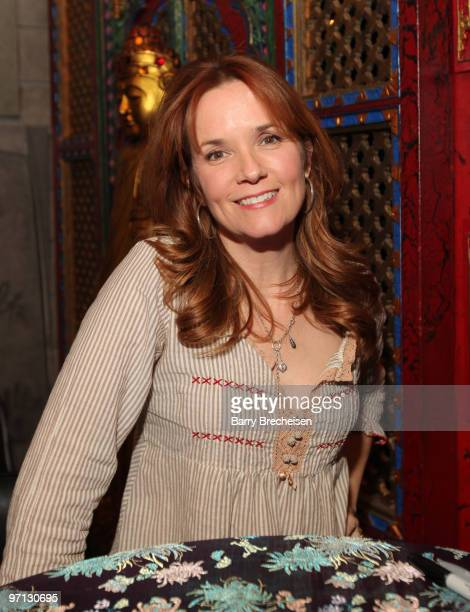 Lea Thompson attends the 25th anniversary screening of Back To The Future at Hollywood Blvd Cinema on February 26 2010 in Chicago Illinois