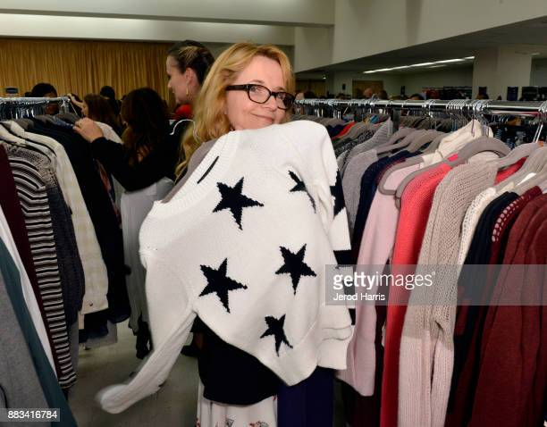 Lea Thompson attends the Dress For Success WorldwideWest Seventh Annual Shop For Success Vip Event In Los Angeles on November 30 2017 in Los Angeles...