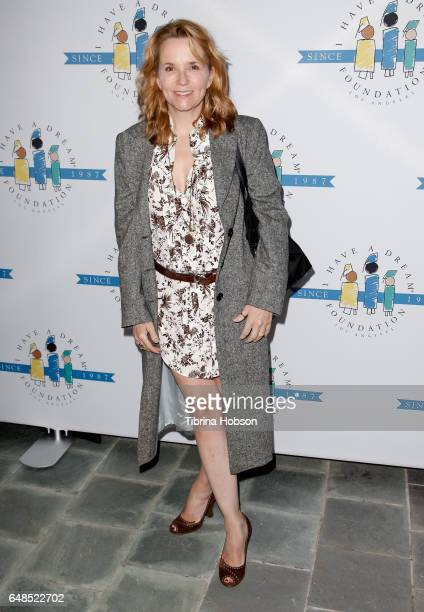 Lea Thompson attends the 'I Have A Dream' Foundation Annual Dreamer Dinner at Skirball Cultural Center on March 5, 2017 in Los Angeles, California.