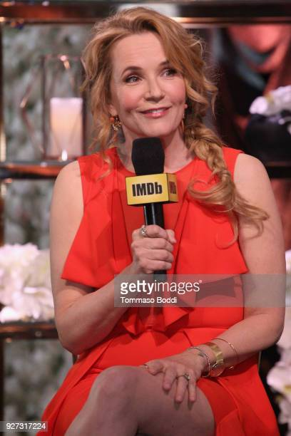 Lea Thompson attends the IMDb LIVE Viewing Party on March 4 2018 in Los Angeles California