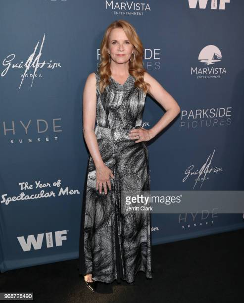 Lea Thompson attends the Premiere of MarVista Entertainment's The Year of Spectacular Men at AMC DineIn Sunset 5 on June 6 2018 in Los Angeles...