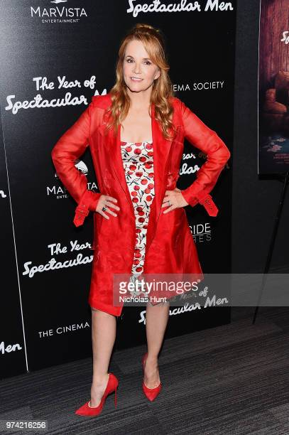 Lea Thompson attends 'The Year Of Spectacular Men' New York Premiere at The Landmark at 57 West on June 13 2018 in New York City