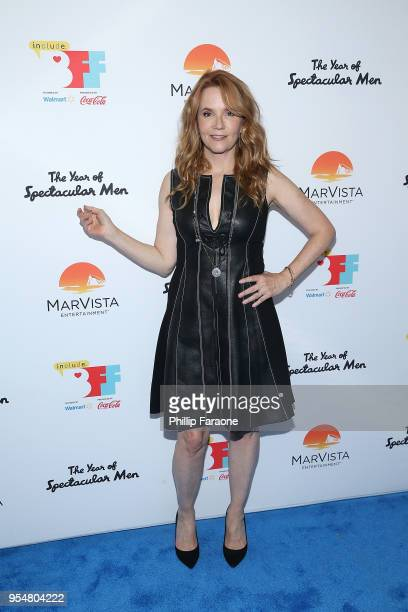 Lea Thompson attends The Year of Spectacular Men premiere at the 4th Annual Bentonville Film Festival Day 4 on May 4 2018 in Bentonville Arkansas