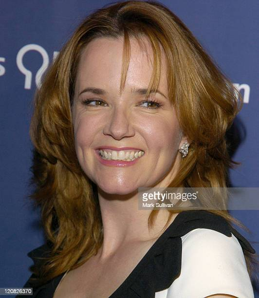 """Lea Thompson during The Alzheimer's Association's 12th Annual """"A Night at Sardi's"""" at The Beverly Hilton Hotel in Beverly Hills, California, United..."""